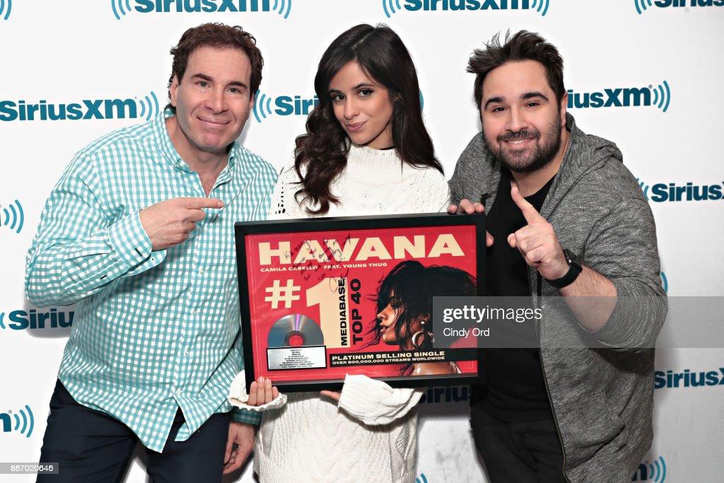 Camila Cabello Performs Live On SiriusXM : News Photo