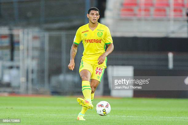 CARLOS of Nantes during the football Ligue 1 match between Dijon FCO and Fc Nantes at Stade Gaston Gerard on August 13 2016 in Dijon France