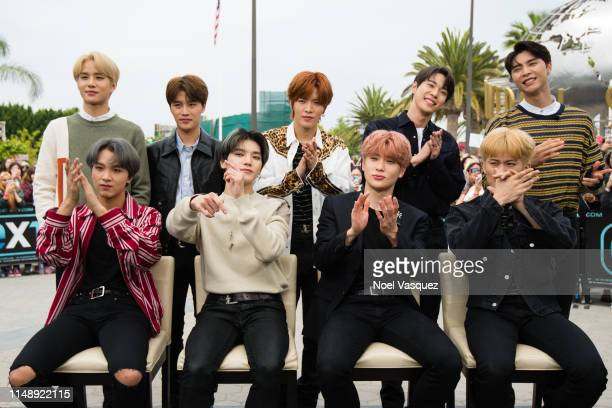 XXX of NCT 127 visits Extraat Universal Studios Hollywood on May 13 2019 in Universal City California