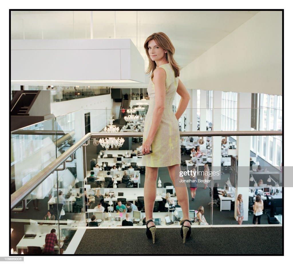 Natalie Massenet, Vogue Magazine, June 1, 2010 : News Photo