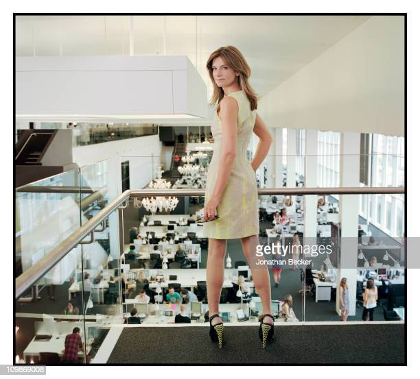 Of Net-a-Porter Natalie Massenet is photographed at the office for Vogue Magazine on April 15, 2010 in London, England. Published image.