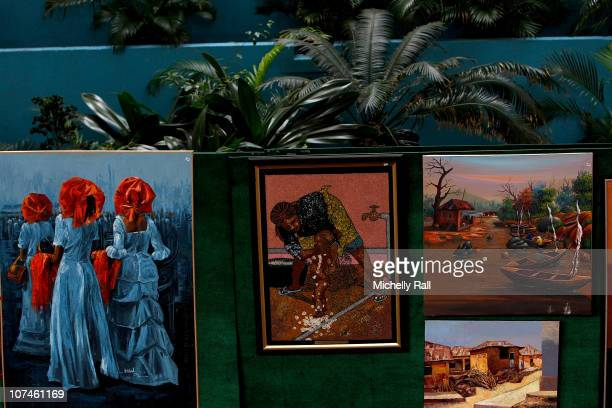 GV of Nigerian Artist's Exhibition at the Pre Show Build Up to the MTV Africa Music Awards 2010 at the EKO Expo Centre in Lagos on December 9 2010 in...