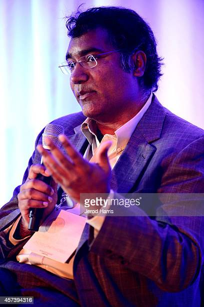 CEO of Nuviso Kishore Kumar attends the 2014 Kairos Global Summit at RitzCarlton Laguna Nigel on October 17 2014 in Dana Point California