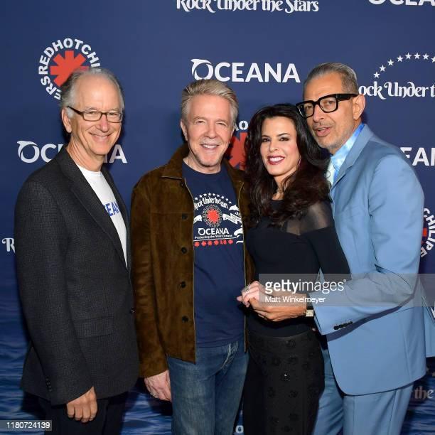 "Of Oceana Andrew Sharpless, President of Oceana Keith Addis, Keri Selig and Jeff Goldblum attends Oceana's Fourth Annual ""Rock Under The Stars""..."
