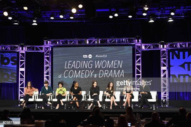 EVP of Original Programming for TNT Sarah Aubrey coexecutive producer/writer of TNT's Animal Kingdom Megan Martin Alia Shawkat Niecy Nash Michelle...
