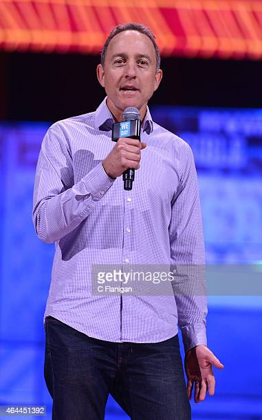 Of PacSun Gary H. Schoenfeld speaks during 'We Day California' at SAP Center on February 25, 2015 in San Jose, California.