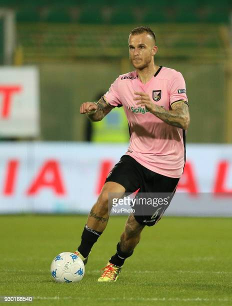 STRUNA of Palermo during the serie B match between US Citta di Palermo and Frosinone at Stadio Renzo Barbera on March 10 2018 in Palermo Italy