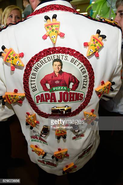 CEO of Papa John's John Schnatter is seen around the 142nd Kentucky Derby at Churchill Downs on May 7 2016 in Louisville Kentucky
