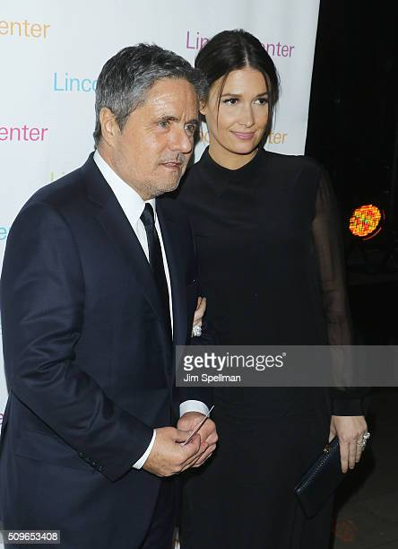 CEO of Paramount Pictures Brad Grey and wife Cassandra Huysentruyt attend the 2016 American Songbook Gala at Alice Tully Hall Lincoln Center on...