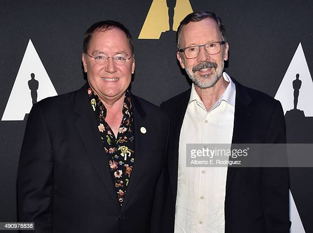 CEO of Pixar Animation Studios Disney Animation Studios Disney Toon Studios John Lasseter and President of Pixar Animation Studios Disney Animation...