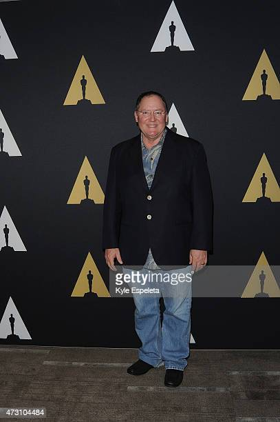 CEO of Pixar Walt Disney Animation Studios and DisneyToon Studios John Lasseter attends The New Audience Moviegoing In A Connected World a live panel...