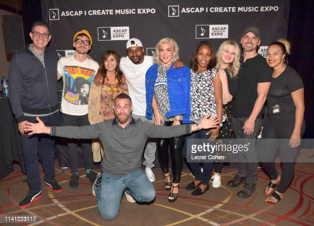 ASCAP VP of Pop/Rock Marc EmertHutner songriter Matthew Koma ASCAP AVP of Pop/Rock Creative Special Projects Loretta Muñoz ASCAP AVP of Pop/Rock...