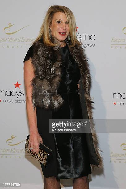 CEO of Prudential Douglas Elliman Dottie Herman attends European School Of Economics Foundation Vision And Reality Awards on December 5 2012 in New...