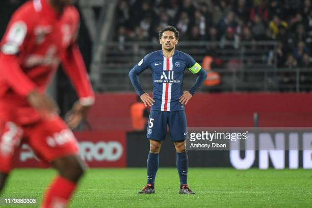 MARQUINHOS of PSG during the Ligue 1 match between Dijon and Paris Saint Germain on November 1 2019 in Dijon France