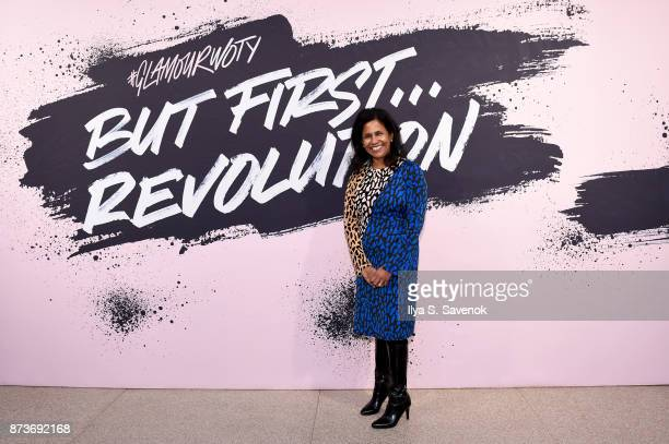 SVP of Public Policy and Government Affairs for North America at PepsiCo Ruchi Bhowmik poses during Glamour Celebrates 2017 Women Of The Year Live...