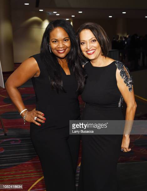 SVP of Public Relations at TV One Tosha Whitten and Executive Director Walter Kaitz Foundation Michelle Ray attend the 35th Anniversary Walter Kaitz...