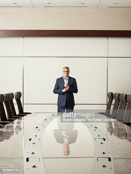 CEO of Qualcomm Steve Mollenkopf is photographed for Forbes Magazine on January 29 2016 in San Diego California CREDIT MUST READ Robert Gallagher/The...