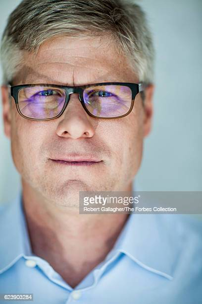 CEO of Qualcomm Steve Mollenkopf is photographed for Forbes Magazine on January 29 2016 in San Diego California PUBLISHED IMAGE CREDIT MUST READ...