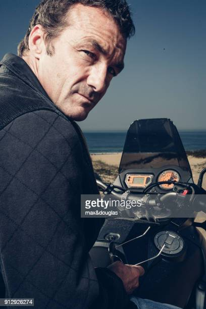 CEO of Quiksilver Pierre Agnes is photographed for Riders Magazine on September 21 in Biarritz France UNPUBLISHED IMAGE