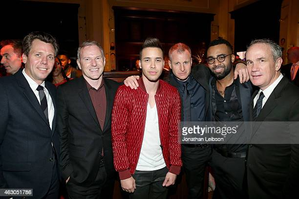 Of RCA Records John Fleckenstein, CEO of RCA Records Peter Edge, recording artist Prince Royce, Executive VP and Head of A&R for RCA Records Keith...