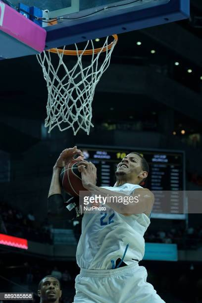 TAVARES of Real Madrid during Liga ACB regular season basket match between Real Madrid and UCAM Murcia at Wizink Center in Madrid Spain on December...