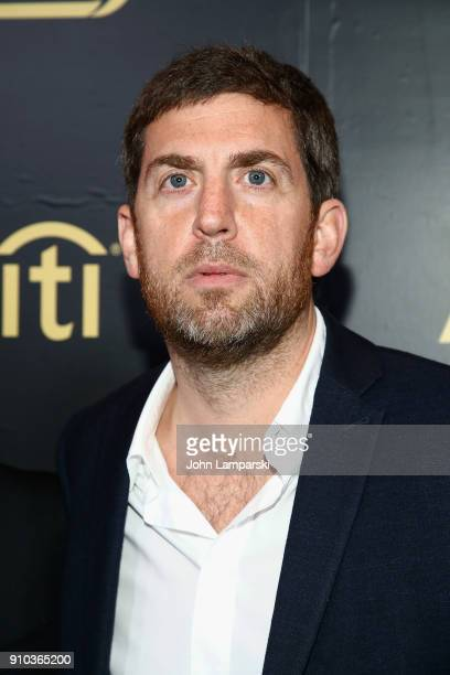 CEO of Recorded Music at Warner Music Group Max Lousada attends 2018 Billboard Power 100 List at Nobu 57 on January 25 2018 in New York City
