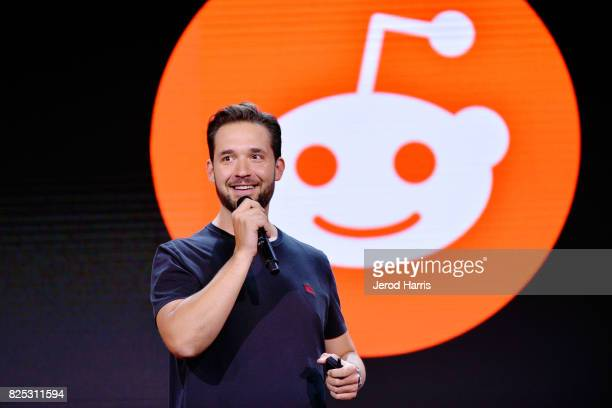 CEO of Reddit Alexis Ohanian attends WORLDZ Cultural Marketing Summit 2017 at Hollywood and Highland on July 31 2017 in Los Angeles California