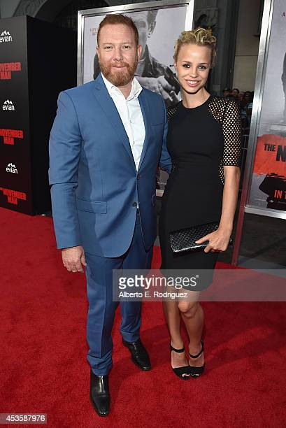 CEO of Relativity Media Ryan Kavanaugh and Jessica Roffey arrive to the World Premiere of Relativity Media's The November Man at the TCL Chinese...