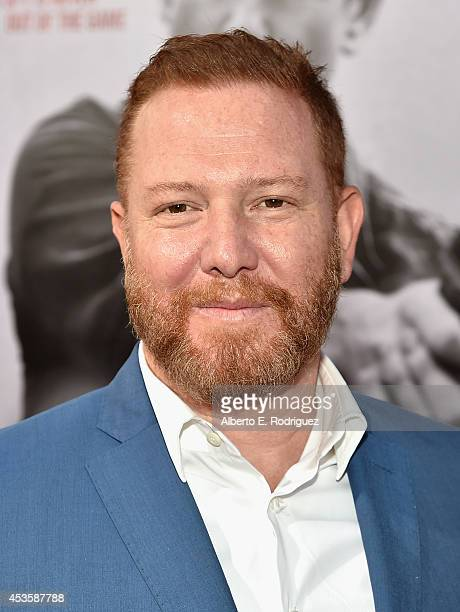 CEO of Relativity Media Ryan Kavanaugh arrives to the World Premiere of Relativity Media's The November Man at the TCL Chinese Theatre on August 13...
