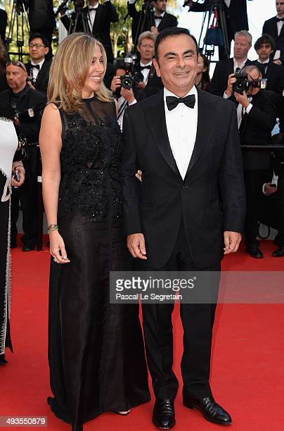 CEO of Renault and Nissan Carlos Ghosn attends the Closing Ceremony and Fistful of Dollars Screening during the 67th Annual Cannes Film Festival on...