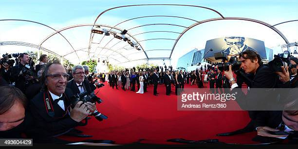 CEO of Renault and Nissan Carlos Ghosn leads a line of guests walking the red carpet at the Closing Ceremony and 'A Fistful of Dollars' screening...