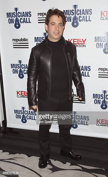 Of Republic Records Charlie Walk attends the Musicians On Call's 15th anniversary celebration at Espace on November 18, 2014 in New York City.