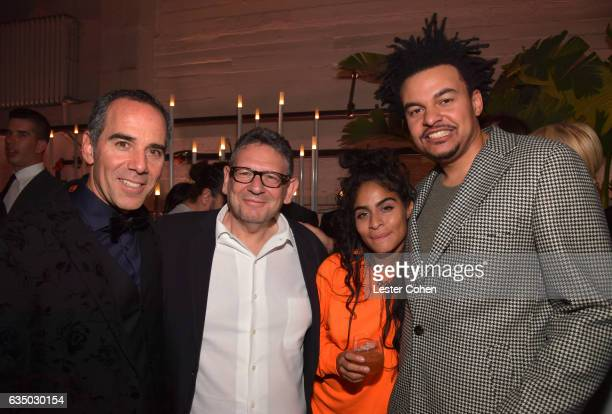 CEO of Republic Records Monte Lipman Chief Executive Officer of Universal Music Group Lucian Grainge musical artist Jessie Reyez and music producer...