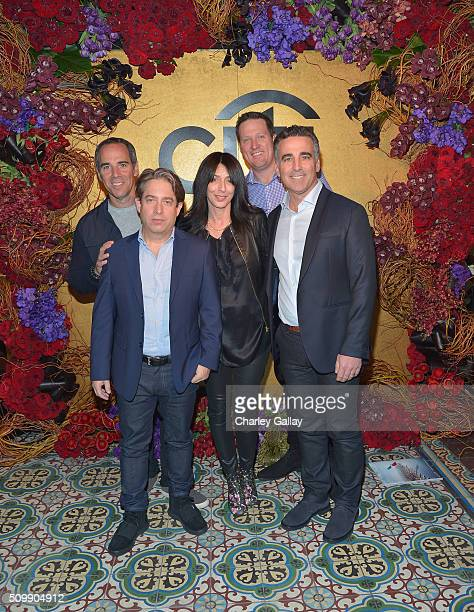 CEO of Republic Records Monte Lipman president of the Republic Group Charlie Walk Wendy Goldstein guest and President/COO of Republic Records Avery...