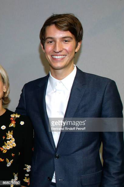 CEO of Rimowa Alexandre Arnault attends the Christian Dior show as part of the Paris Fashion Week Womenswear Spring/Summer 2018 on September 26 2017...