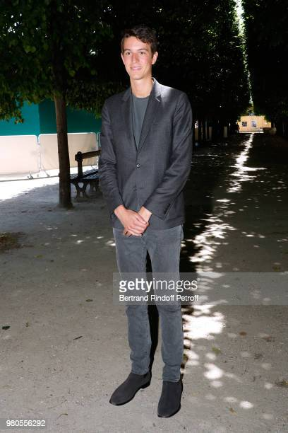 CEO of Rimowa Alexandre Arnault attends the Louis Vuitton Menswear Spring/Summer 2019 show as part of Paris Fashion Week on June 21 2018 in Paris...