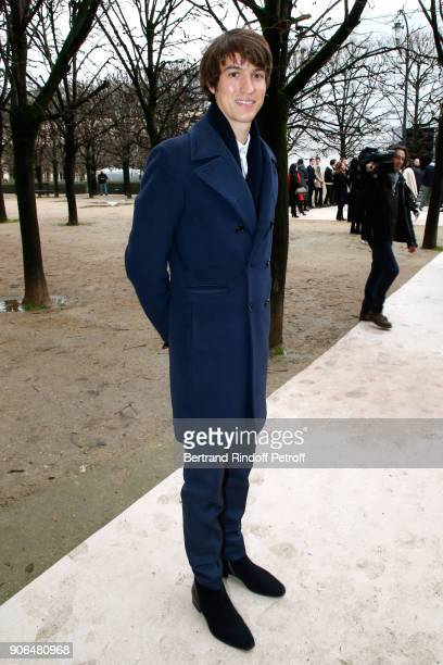 CEO of Rimowa Alexandre Arnault attends the Louis Vuitton Menswear Fall/Winter 20182019 show as part of Paris Fashion Week on January 18 2018 in...