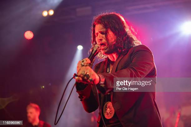 of Rival Sons performs on stage at The Notodden Blues Festival on August 3 2019 in Notodden Norway