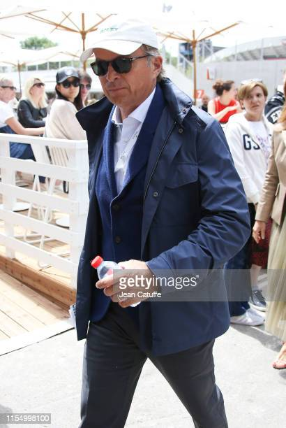 CEO of Rolex JeanFrederic Dufour attends the men's final during day 15 of the 2019 French Open at Roland Garros stadium on June 9 2019 in Paris France