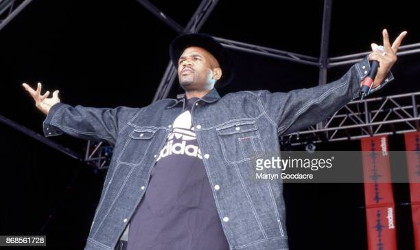 DMC of Run DMC performs on stage at Respect Festival Finsbury Park London 21st July 2001