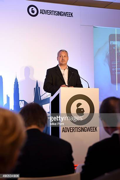 VP of Sales Development and Marketing Brian Gerber speaks onstage at the Unified Insights Understand the Future of TV Today panel during Advertising...