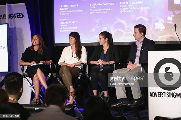 VP of Sales Marketing at Pandora Susan Panico Director of Global Marketing at Gatorade Lauren Fritts Group Planning Director at OMD Susan Earnest and...