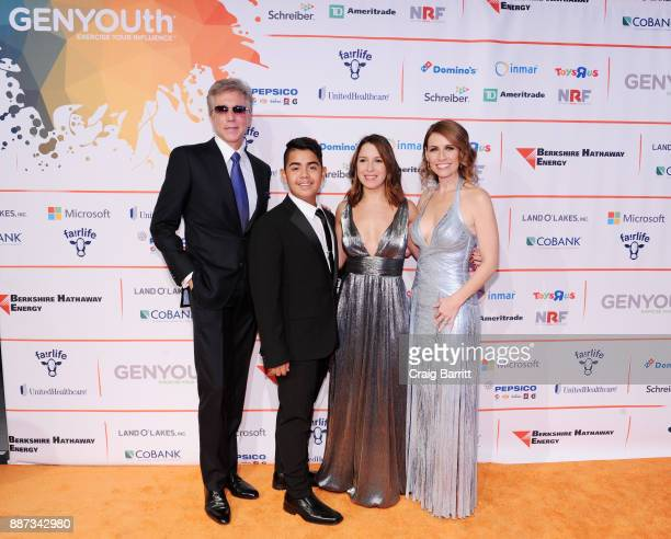 CEO of SAP Bill McDermott AdCap speaker Charly Tiempos journalist for the New York Post Francesca Bacardi and CEO of the GENYOUth Foundation Alexis...