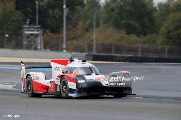 Of Sebastien BUEMI , Kazuki NAKAJIMA , Brendon HARTLEY during Motor Racing - 24 Hours of Le Mans on September 19, 2020 in Le Mans, France.