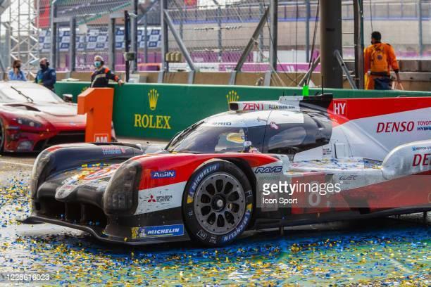 Of Sebastien BUEMI , Kazuki NAKAJIMA , Brendon HARTLEY during Motor Racing - 24 Hours of Le Mans on September 20, 2020 in Le Mans, France.