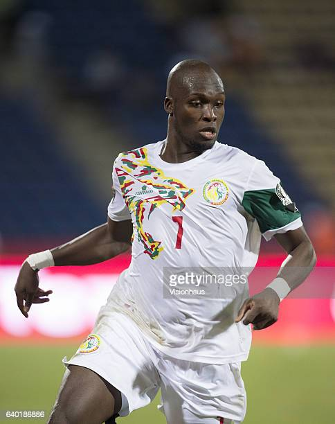 SOW of Senegal during the Group B match between Senegal and Algeria at Stade Franceville on January 23 2017 in Franceville Gabon