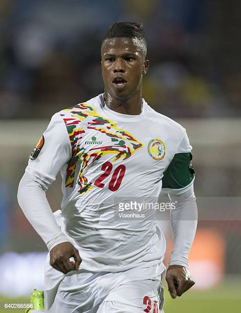 BALDÉ of Senegal during the quarterfinal match between Senegal and Cameroon at Stade Franceville on January 28 2017 in Franceville Gabon