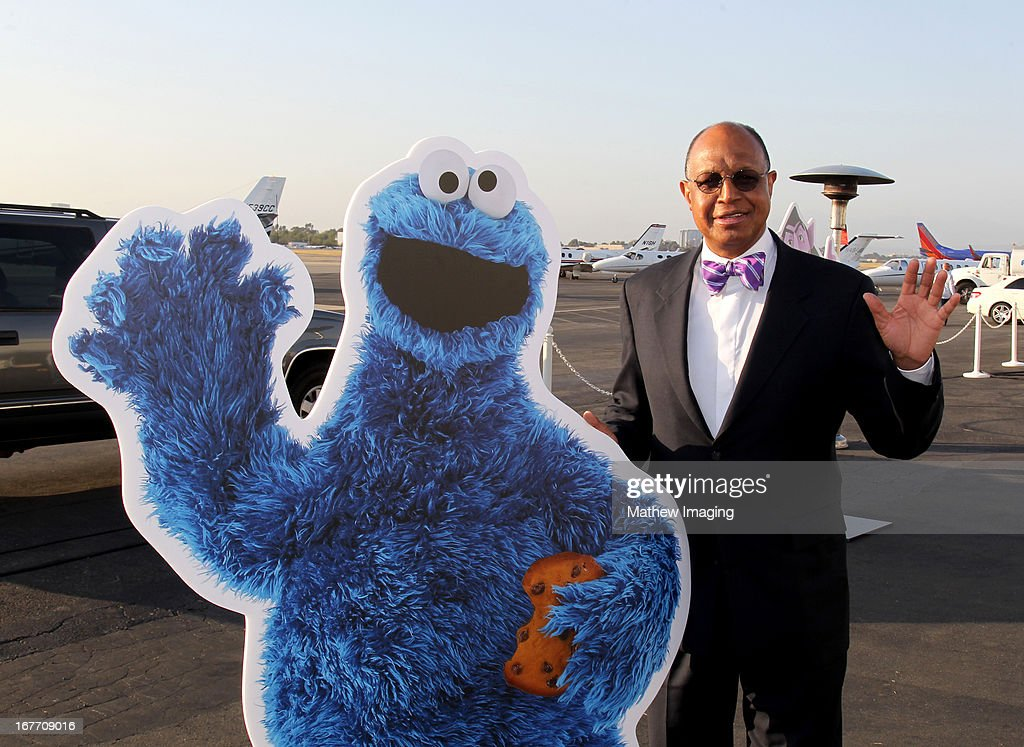 CEO of Sesame Workshop H. Melvin Ming attends the PBS SoCaL Presents the 2012 Masterpiece Ball on May 5, 2012 at the Atlantic Aviation Hanger in Santa Ana, California.