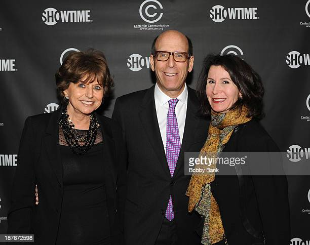 CEO of Showtime Matthew C Blank Executive Director Center for Communications Catherine Williams and Katherine Olver Commisioner NYC Office of Media...