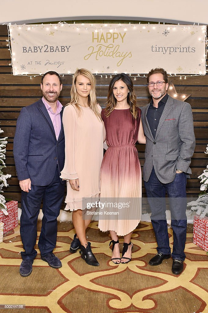 Baby2Baby Holiday Party Presented By Tiny Prints At Montage Beverly Hills : News Photo
